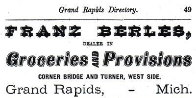 1874 Grand Rapids Directory