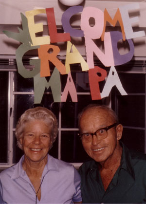 Welcome Grand Ma/Pa, by Carroll Biggins