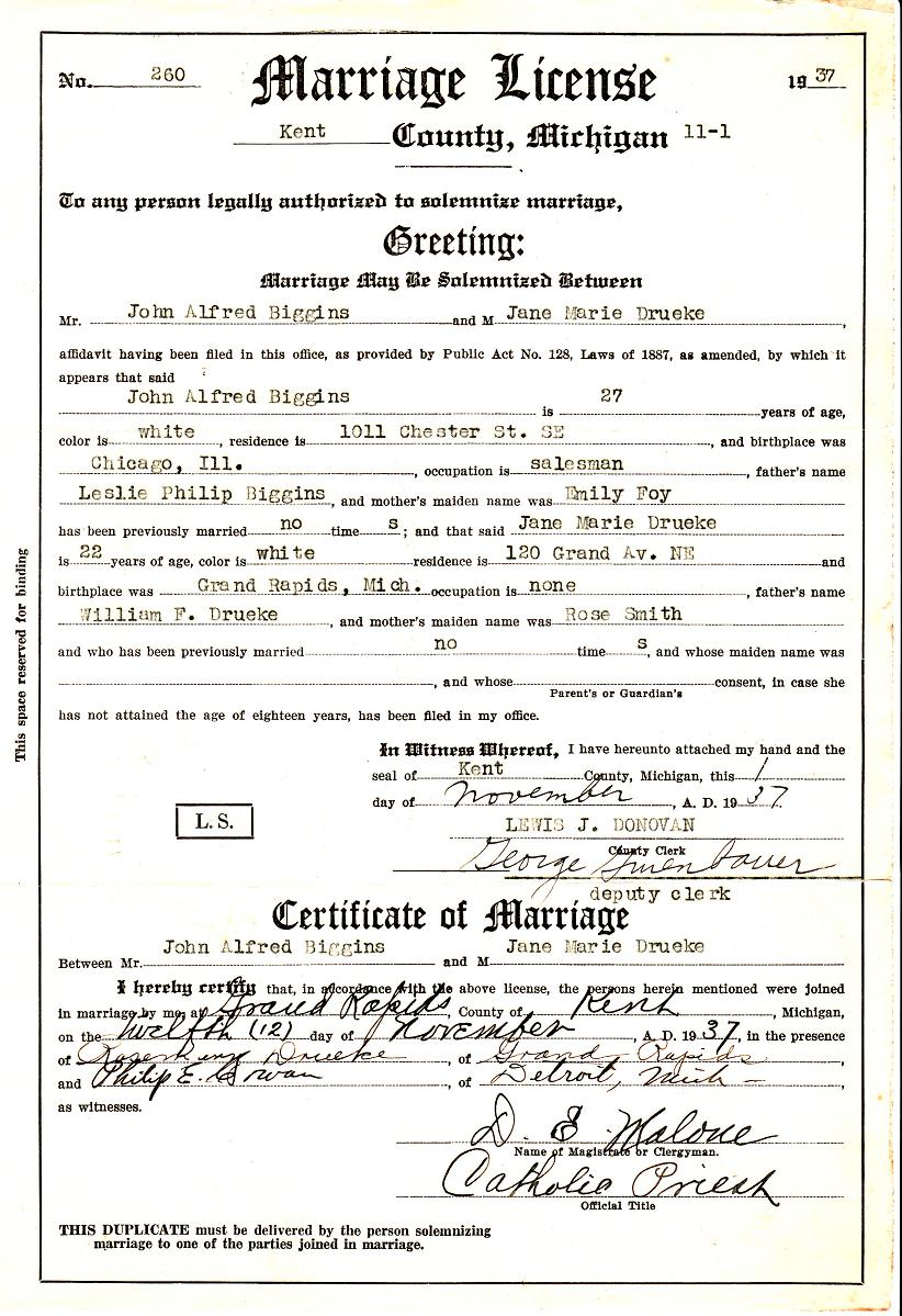 Marriage license florida officiated at the wedding marriage license xflitez Gallery