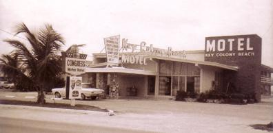 Key Colony Beach Motel, 1965