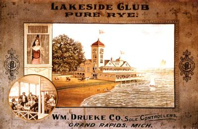 Lakeside Club Poster