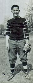 Al in baseball uniform