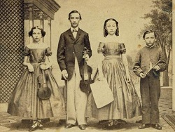 Anna, Fred, Louisa, and Henry