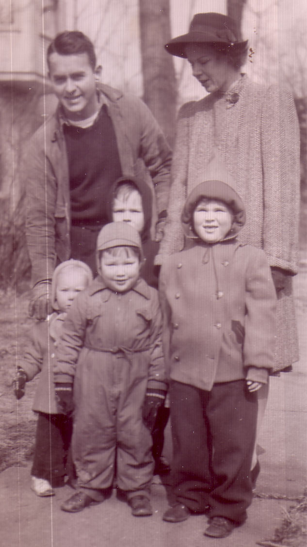 Al and Jane and four children