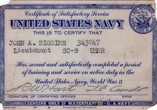 Navy ID card