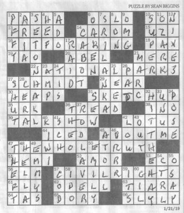 Round Table Knight Crossword Clue.Biggins Beggan Irish Roots