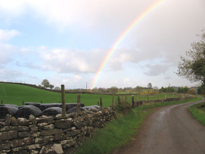 Rainbow in Kiltarsaghaun