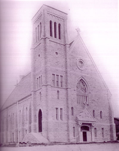 St. Dennis Church, circa 1877-97